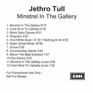Jethro Tull - Minstrel In The Gallery download free